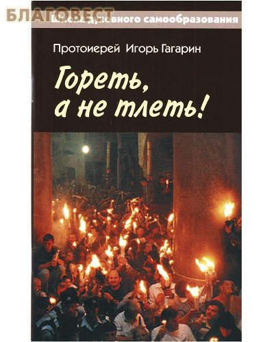 Христианская жизнь Гореть, а не тлеть. Протоиерей Игорь Гагарин
