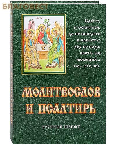 Родное пепелище НООФ Молитвослов и псалтирь. Крупный, русский шрифт