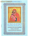 Христианская жизнь Акафист Пресвятой Богородице пред иконой Владимирская. Цвет а ассортименте