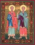 стен иконы космы и дамиана фото освященных